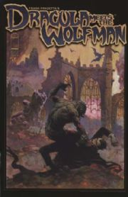 Frank Frazetta's Dracula Meets The Wolfman Comics